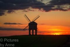 Chesterton Windmill, sunset