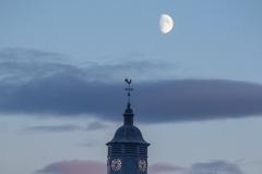 Moon at Dingwall