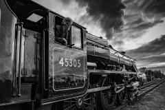 Departure by steam