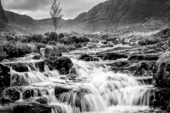 Waterfall near Bealach no Ba, Applecross