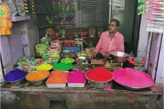 Jaipur Rajasthan India Colours for Holi