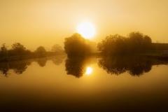Sunrise at Hickling Basin