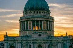 2nd St Pauls at sunset