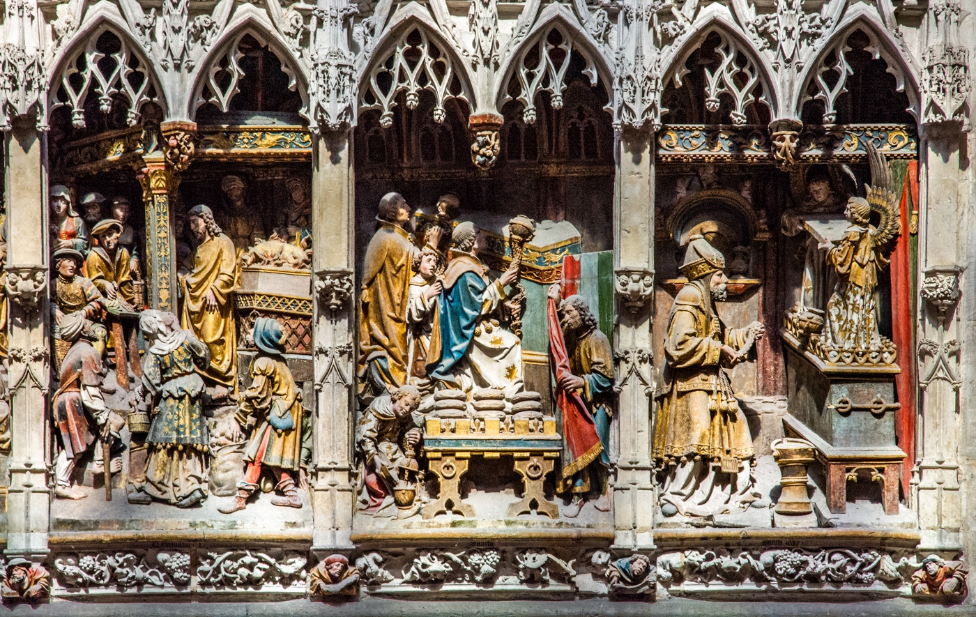 Amiens Cathedral carving