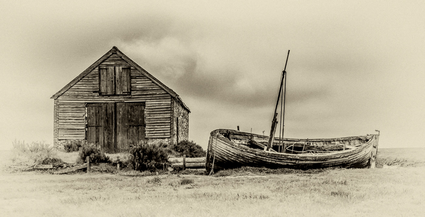 Coalshed and boat