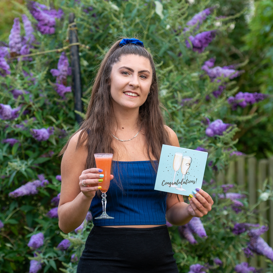 Natalie Burrows completes degree course