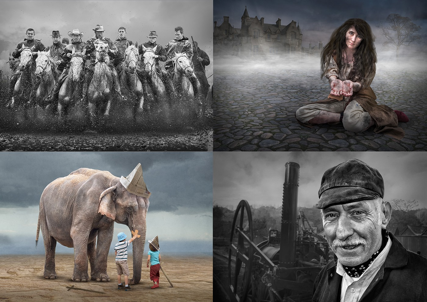 People, Portraits and Pachyderms